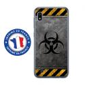 TPU0TPU0A10RADIOACTIF - Coque souple pour Samsung Galaxy A10 avec impression Motifs radioactif