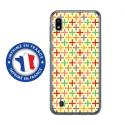 TPU0TPU0A10RETRO3 - Coque souple pour Samsung Galaxy A10 avec impression Motifs retro 3
