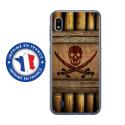 TPU0TPU0A10SABREPIRATE - Coque souple pour Samsung Galaxy A10 avec impression Motifs sabre et tête de mort pirate