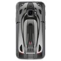 TPU0XCOVER4VOITURE - Coque souple pour Samsung Galaxy XCover 4 avec impression Motifs voiture de course