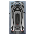TPU0XPERIAXZ1VOITURE - Coque souple pour Sony Xperia XZ1 avec impression Motifs voiture de course