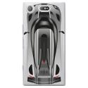 TPU0XZ1COMPVOITURE - Coque souple pour Sony Xperia XZ1 Compact avec impression Motifs voiture de course