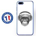 TPU0Y52018VIEUSINGECASQ - Coque souple pour Huawei Y5 (2018) avec impression Motifs singe avec casque