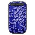 TPU1CURVE9320ARABESQUEBLEU - Coque souple pour Blackberry Curve 9320 avec impression Motifs arabesque bleu