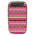 TPU1CURVE9320AZTEQUE - Coque souple pour Blackberry Curve 9320 avec impression Motifs azt�que
