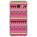TPU1GALA32016AZTEQUE - Coque souple pour Samsung Galaxy A3-2016 avec impression Motifs aztèque