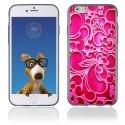 TPU1IPHONE6ARABESQUEFUSHIA - Coque Souple en gel pour Apple iPhone 6 avec impression arabesque fushia