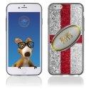 TPU1IPHONE6BALLONANGLETERRE - Coque Souple en gel pour Apple iPhone 6 avec impression ballon de rugby et drapeau de l'Angleterre