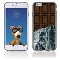 TPU1IPHONE6CHOCOLAT - Coque Souple en gel pour Apple iPhone 6 avec impression tablette de chocolat