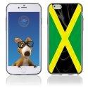 TPU1IPHONE6DRAPJAMAIQUE - Coque Souple en gel pour Apple iPhone 6 avec impression drapeau de la Jamaïque