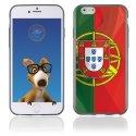 TPU1IPHONE6DRAPPORTUGAL - Coque Souple en gel pour Apple iPhone 6 avec impression drapeau du Portugal