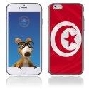 TPU1IPHONE6DRAPTUNISIE - Coque Souple en gel pour Apple iPhone 6 avec impression drapeau de la Tunisie