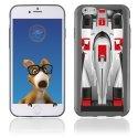 TPU1IPHONE6F1 - Coque Souple en gel pour Apple iPhone 6 avec impression Formule 1