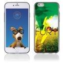TPU1IPHONE6FURY - Coque Souple en gel pour Apple iPhone 6 avec impression Fury