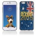 TPU1IPHONE6GOLDAUSTRALIE - Coque Souple en gel pour Apple iPhone 6 avec impression logo rugby doré et drapeau de l'Australie