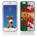 TPU1IPHONE6GOLDGALLE - Coque Souple en gel pour Apple iPhone 6 avec impression logo rugby doré et drapeau du Pays de Galle