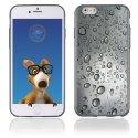 TPU1IPHONE6GOUTTEEAU - Coque Souple en gel pour Apple iPhone 6 avec impression gouttes d'eau