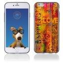 TPU1IPHONE6LOVESPRING - Coque Souple en gel pour Apple iPhone 6 avec impression Love Spring