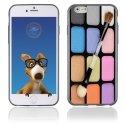 TPU1IPHONE6MAQUILLAGE - Coque Souple en gel pour Apple iPhone 6 avec impression palette de maquillage
