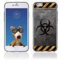 TPU1IPHONE6RADIOACTIF - Coque Souple en gel pour Apple iPhone 6 avec impression radioactif