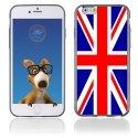 TPU1IPHONE6UNIONJACK - Coque Souple en gel pour Apple iPhone 6 avec impression Union Jack
