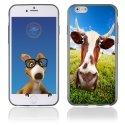 TPU1IPHONE6VACHE - Coque Souple en gel pour Apple iPhone 6 avec impression vache