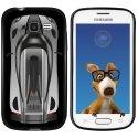 TPU1S7390VOITURE - Coque Souple en gel noir pour Galaxy Trend Lite avec impression Motifs voiture de course