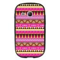 TPU1YOUNG2AZTEQUE - Coque souple pour Samsung Galaxy Young 2 SM-G130 avec impression Motifs aztèque