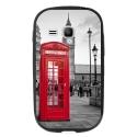 TPU1YOUNG2CABINEUK - Coque souple pour Samsung Galaxy Young 2 SM-G130 avec impression Motifs cabine téléphonique UK rou