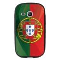 TPU1YOUNG2DRAPPORTUGAL - Coque souple pour Samsung Galaxy Young 2 SM-G130 avec impression Motifs drapeau du Portugal