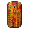 TPU1YOUNG2LOVESPRING - Coque souple pour Samsung Galaxy Young 2 SM-G130 avec impression Motifs Love Spring