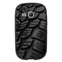 TPU1YOUNG2PNEU - Coque souple pour Samsung Galaxy Young 2 SM-G130 avec impression Motifs pneu