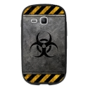 TPU1YOUNG2RADIOACTIF - Coque souple pour Samsung Galaxy Young 2 SM-G130 avec impression Motifs radioactif