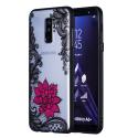TPUA6PLUS-SMALLFLOW - Coque souple Galaxy A6+ transparent petite fleur