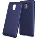TPUCARBONOKIA31BLEU - Coque souple Nokia 3.1 aspect carbone bleu en gel flexible