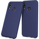 TPUCARBOP20LITEBLEU - Coque souple P20-Lite aspect carbone bleu en gel flexible