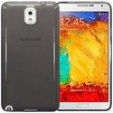 TPUFUMNOTE3 - Coque souple de protection pour Galaxy Note 3 coloris gris fumé transparent