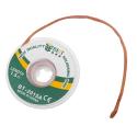 TRESSE-DESSOUDER15MM - Tresse à dessouder en cuivre 1,5 mm