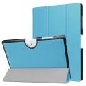TRIFOLD-B3-A40BLEU - Etui Acer Iconia One-10 B3-A40 avec rabat articulé coloris bleu