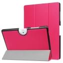 TRIFOLD-B3-A40FUSHIA - Etui Acer Iconia One-10 B3-A40 avec rabat articulé coloris fushia