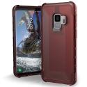 UAG-GLXS9-Y-CR - Coque renforcée Galaxy S9 de UAG série Plyo coloris rouge Crimson
