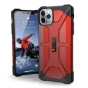 UAG-IP11PAMX-PATHROUGE - Coque UAG iPhone 11 Pro Max Plasma antichoc coloris magma