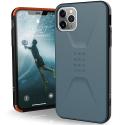 UAG-IP11PMAX-CIVISLATE - Coque UAG iPhone 11 Pro Max série Civilian antichoc coloris Ardoise