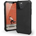 UAG-IP12-CUIRNOIR - Coque UAG iPhone 12/12 Pro série Metropolis LT antichoc et cuir noir