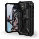 UAG-IP12MINI-MONACARBON - Coque UAG iPhone 12 Mini série Monarch 5 couches antichoc et alliage métal carbone