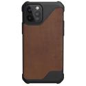 UAG-IP12PMAX-CUIRMARRON - Coque UAG iPhone 12 Pro Max série Metropolis LT antichoc et cuir marron
