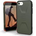 UAG-IP8-CIVIOLIVE - Coque UAG iPhone 7/8/SE(22020) série Civilian antichoc coloris Olive