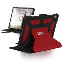 UAG-IPADPRO11ROUGE - Etui UAG iPad Pro 11 2018 renforcé et antichoc coloris rouge