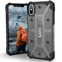 UAG-IPHX-L-AS - Coque iPhone X de UAG série Plasma coloris gris fumé