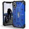 UAG-IPHX-L-CB - Coque iPhone X de UAG série Plasma coloris Bleu cobalt